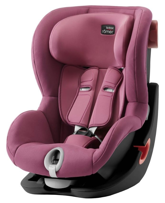 Автокресло Britax Römer King II Black Series Wine Rose Trendline в Караганде