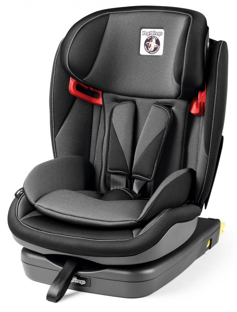 Автокресло Peg-Perego Viaggio 1-2-3 Via Crystal Black в Караганде